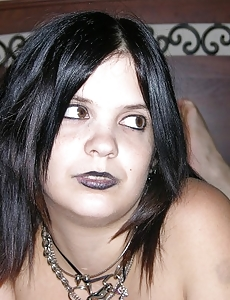 Big Breasted Emo Teen In A Naked Dilettante Photo Discharge