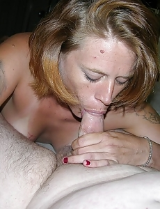 Stupid Mummy Gives BJ And Acquires Cum Blasted On Ass
