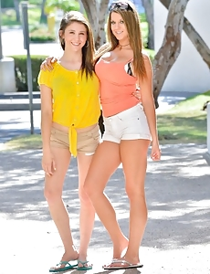 Kelsey and Hazel Casual to Dressy